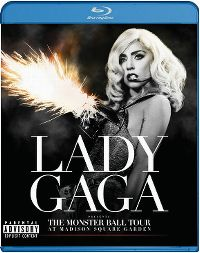 Cover Lady Gaga - Lady Gaga Presents The Monster Ball Tour At Madison Square Garden [DVD]